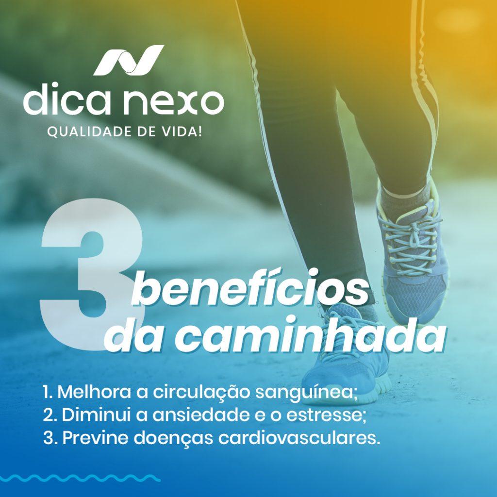 3 Benefícios da Caminhada
