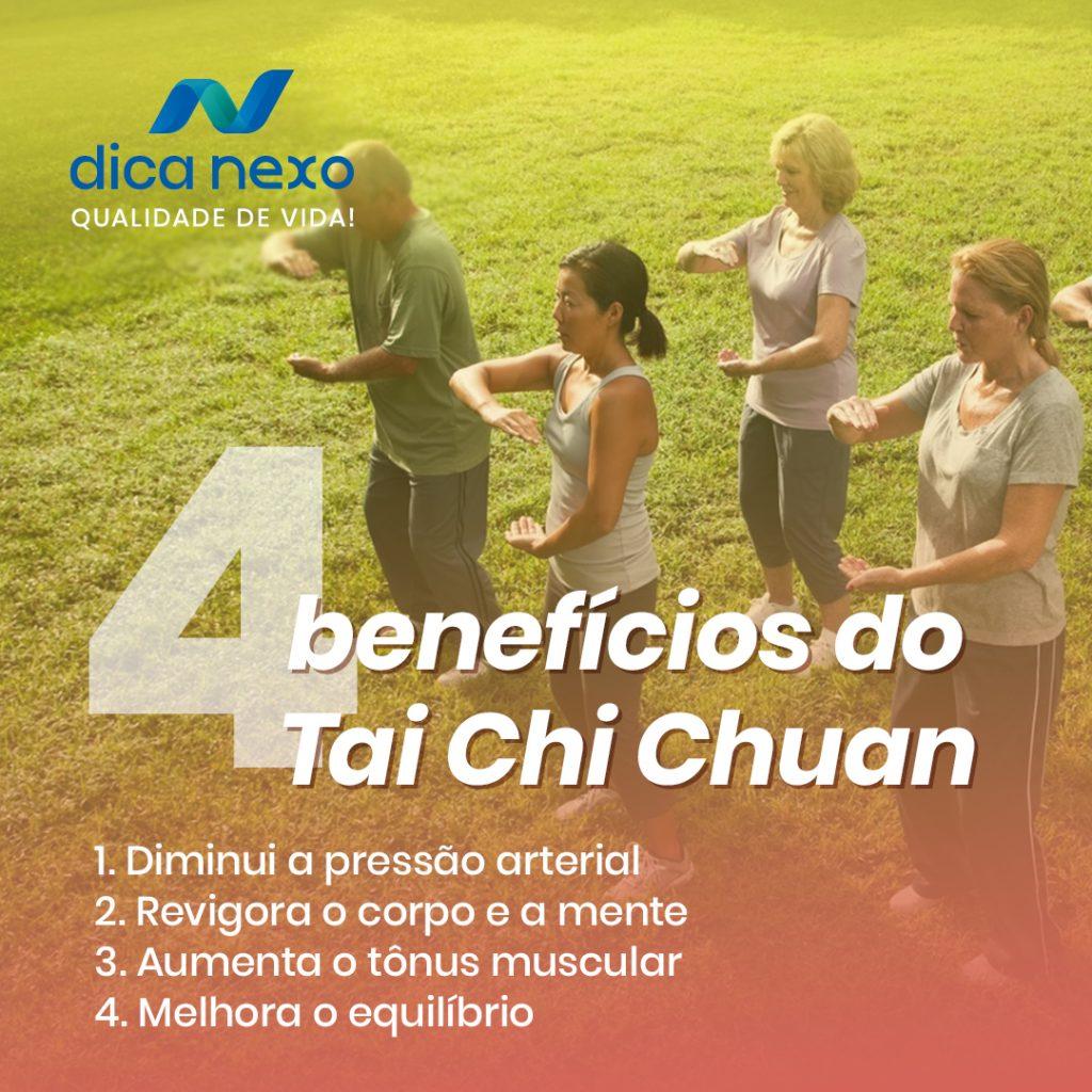4 Benefícios do Tai Chi Chuan